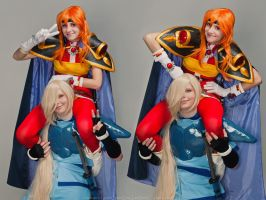 Lina and Gourry 4 by GreatQueenLina