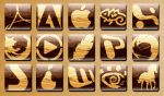 wooden icons by hannes-hazelnut
