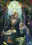 Thranduil With His Son Legolas by Venlian