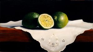 Limes and Linen by VRobson-Breault