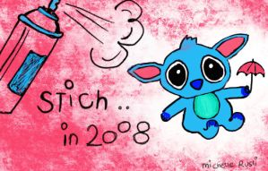 Stitch in 2008 by simplydreamz