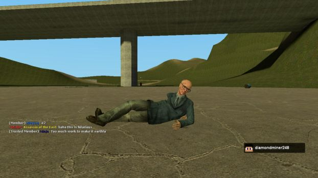 Paint me like one of your GMod Ladies by Quagmirefan1