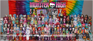 MY MONSTER HIGH DOLL COLLECTION. (12.30.2012) by coolkidelise