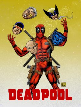 Deadpool Juggles - Head of the Class by klerkh