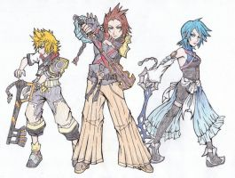 Kingdom hearts Original character - Ira by SuiSauce on ... Terra And Aqua Fanfiction