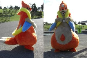 Floatzel fursuit 3 by ensiryu