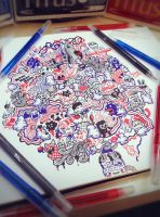 Doodle: BRB Dreaming by LeiMelendres