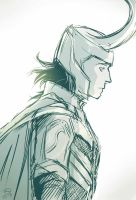 Loki sketch by Dreki-K