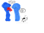 Metal Sonic, Sonic and Baby Knockout ^^ by knockoutandsonic