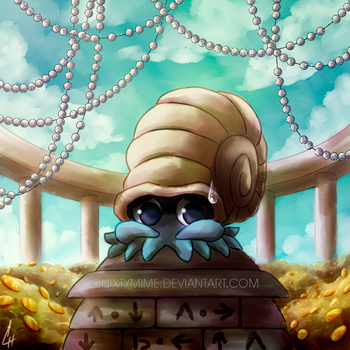 138 - Omanyte by OnixTymime