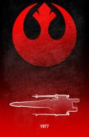 Movie Car Racing Posters - X-wing by Boomerjinks