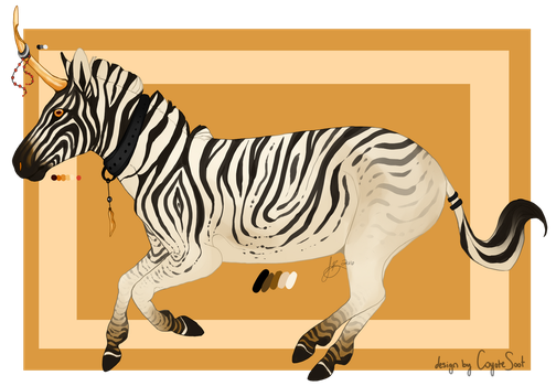African Unicorn [closed] by CoyoteSoot