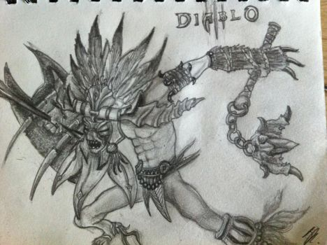 Diablo III - Witch Doctor by Edamessiah