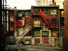 The Colors of Poverty by mouzeron