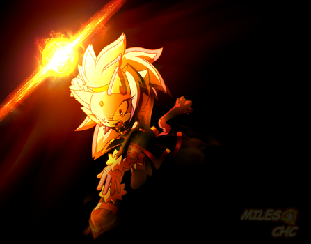 BLAZE THE CAT oO Ver. Miles CHC Oo FLAME ATTACK by Miles-CHC