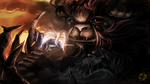 :Speedpaint: The Beast in Shadow by Rozen-Clowd