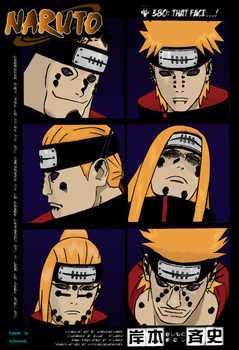 Naruto 380 cover , colored by StillbutterflyReddit