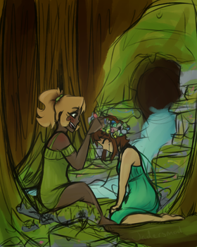 NATURE LESBIANS by Jadersmod