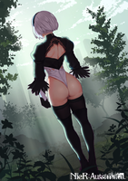 2B Butt by NilSunna