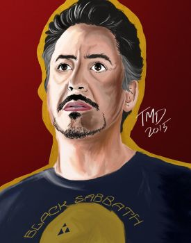 Tony Stark by breach-the-levee