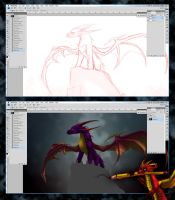 WIP - Malefor by Spyro-fan-25