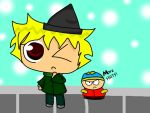 SP - Tweek and mini Cartman by TweekPark