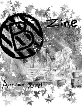 Boier Room Zine cover Autumn 2014 by TheGothiestFraggle