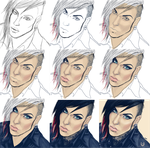 Jayy Von Step-by-Step Process by Chrystall-Bawll