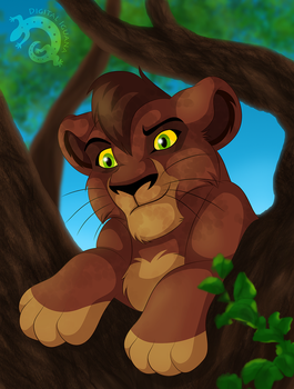 Kovu by DigitalIguana