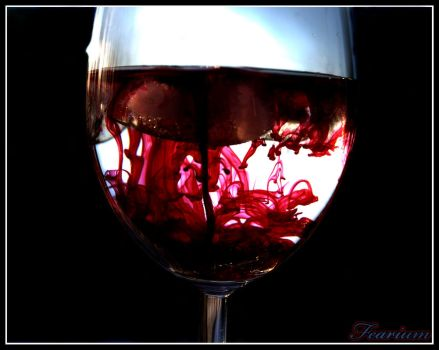 red red wine by Fearium