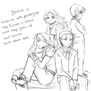 Shinra Prodigies by CrimsonSun