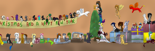 Merry Christmas and a happy new year by PirateLila