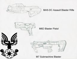 GRSC weapons Part 1 by PD-Black-Dragon