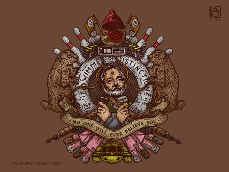 Bill Murray family crest by rodrigobhz