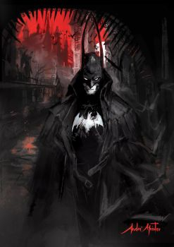WitchHunter Batman by drehmeister