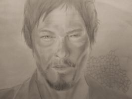 work in progress   daryl dixon by widgge