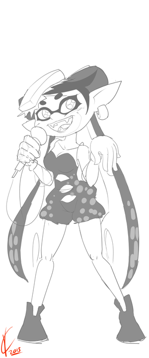 Performance worthy of Ink  how 2 Callie 2 by Dreatos