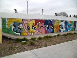 Always Dream - Pixel Art Graffiti by ShinodaGE