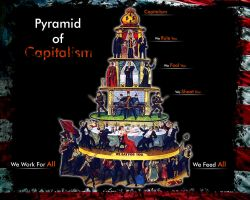 Capitalist Pyramid by Now-Entering-Cyberia