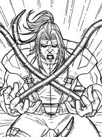 Omega Red by JamieFayX