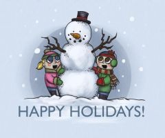 Happy Holidays by minielche