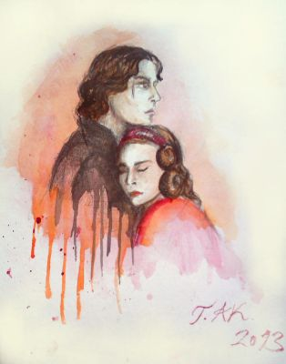 Lord and Lady Vader by Jedi-Anakin