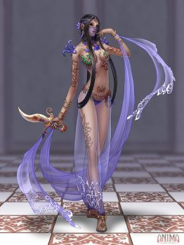 Anima: Dancer girl by Wen-M