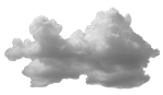 Wide Puffy Cloud V2 by TheStockWarehouse