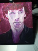 Sherlock Painting by sparklingblue