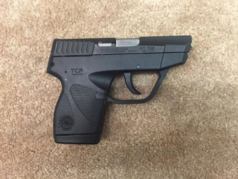 Taurus TCP 938 .380 ACP Pocket Pistol by stopsigndrawer81