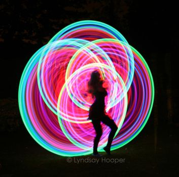 LED Hoop 2 by AutumnPhyre
