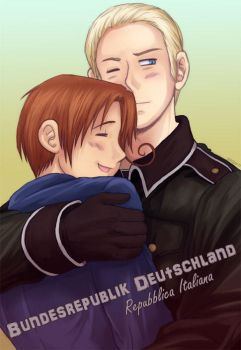 APH - Italy and Germany by TechnoRanma
