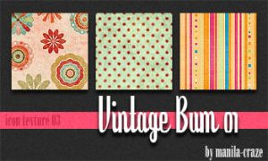 Vintage Bum - icon texture 03 by manila-craze
