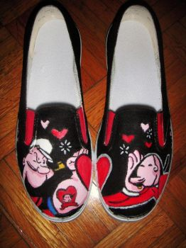 popeye shoes by p009rita